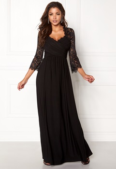 Chiara Forthi Nathalia Maxi Dress Black Bubbleroom.fi