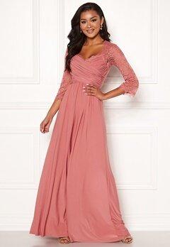 Chiara Forthi Nathalia Maxi Dress Dark pink Bubbleroom.fi