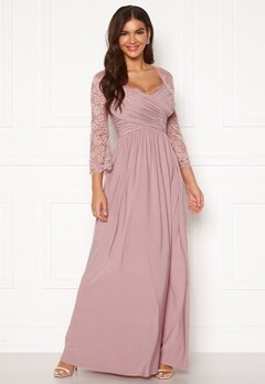 Chiara Forthi Nathalia Maxi Dress Dusty lilac Bubbleroom.fi