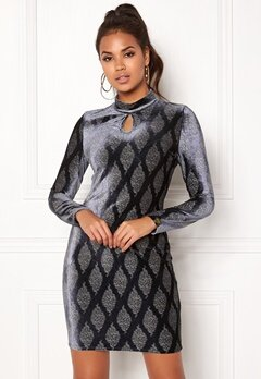 Chiara Forthi Nellani Dress Grey-blue / Gold Bubbleroom.fi
