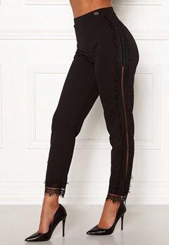 Chiara Forthi Nikita Lace Pants Black Bubbleroom.fi
