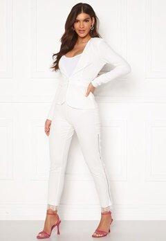 Chiara Forthi Nikita Lace Pants White Bubbleroom.fi