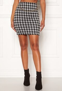 Chiara Forthi Peroni chain skirt Black / White Bubbleroom.fi