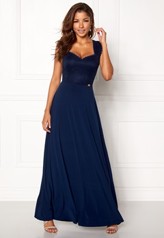 Chiara Forthi Piubella Maxi Dress Midnight blue Bubbleroom.fi