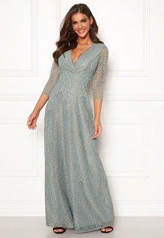 Chiara Forthi Riveria Lace Gown Green Bubbleroom.fi