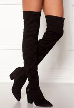 Chiara Forthi Roma overknee boots Black Bubbleroom.fi