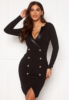 Chiara Forthi Sasha Blazer Dress Black Bubbleroom.fi