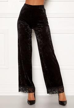 Chiara Forthi Sentiera Lace Pants Black Bubbleroom.fi