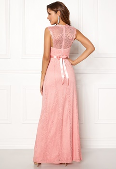 Chiara Forthi Serena Lace Gown Pink Bubbleroom.fi