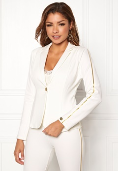Chiara Forthi Shani suit jacket White / Gold Bubbleroom.fi