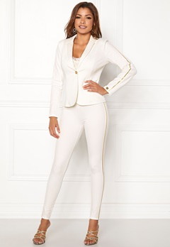 Chiara Forthi Shani suit pants White / Gold Bubbleroom.fi
