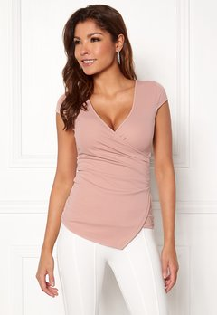 Chiara Forthi Soprano Wrap Top Light pink Bubbleroom.fi