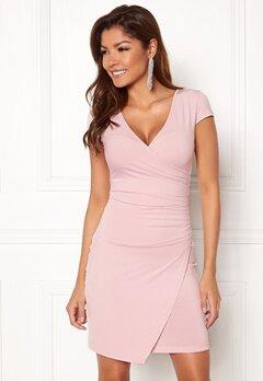 Chiara Forthi Soprano Wrap Dress Light pink Bubbleroom.fi