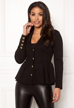 Chiara Forthi Stefania Knit Jacket Black Bubbleroom.fi