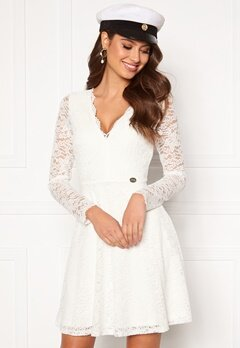Chiara Forthi Stephanie dress White Bubbleroom.fi