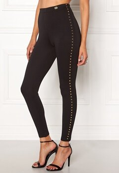 Chiara Forthi Studded Pants Black Bubbleroom.fi