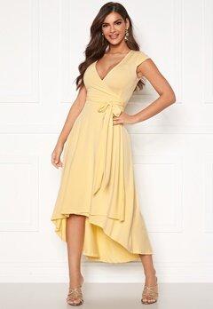 Chiara Forthi Tara Highlow Dress Light yellow Bubbleroom.fi