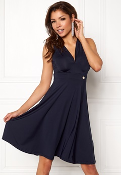 Chiara Forthi Tiamii Dress Navy Bubbleroom.fi
