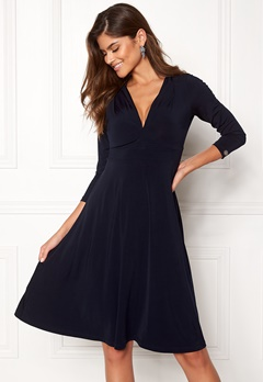 Chiara Forthi Tiamii Jersey Dress Dark blue Bubbleroom.fi