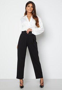 Chiara Forthi Traviata soft suit pants Black bubbleroom.fi