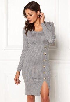 Chiara Forthi Tripoli dress Grey melange Bubbleroom.fi