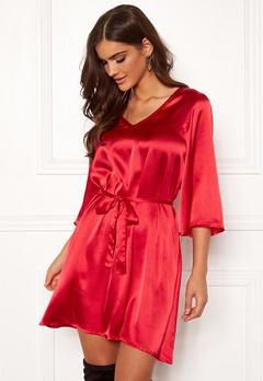 Chiara Forthi Turin tie belt dress Red Bubbleroom.fi