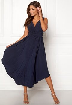 Chiara Forthi Valeria Dress Dark blue Bubbleroom.fi