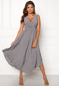 Chiara Forthi Valeria Dress Grey Bubbleroom.fi
