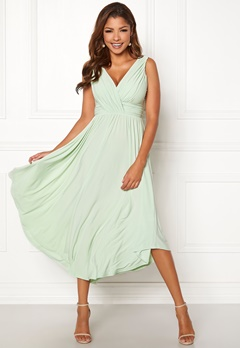 Chiara Forthi Valeria Dress Light green Bubbleroom.fi