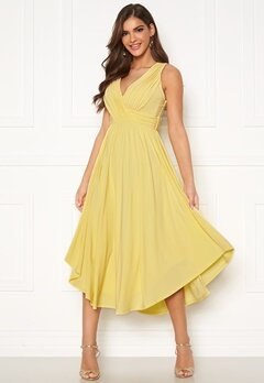 Chiara Forthi Valeria Dress Yellow Bubbleroom.fi