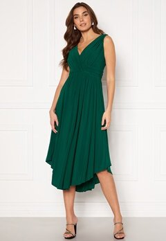 Chiara Forthi Valeria Dress Dark green Bubbleroom.fi