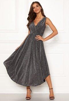 Chiara Forthi Valeria Sparkling Dress Black / Silver Bubbleroom.fi