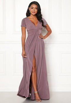 Chiara Forthi Vanessa S/S Gown Nougat Lilac Bubbleroom.fi