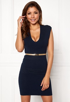Chiara Forthi Vendela Dress Navy Bubbleroom.fi