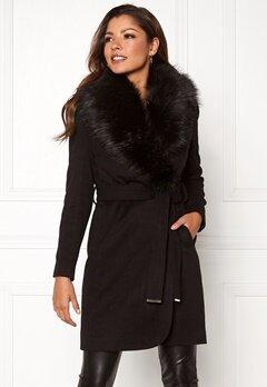 Chiara Forthi Verona Coat Black Bubbleroom.fi