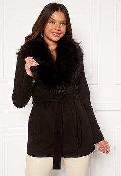Chiara Forthi Verona Short Coat Black Bubbleroom.fi