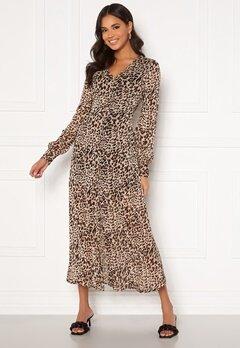 Chiara Forthi Virginia chiffon dress Leopard bubbleroom.fi