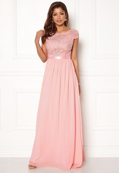 Chiara Forthi Viviere Sparkling Gown Pink Bubbleroom.fi