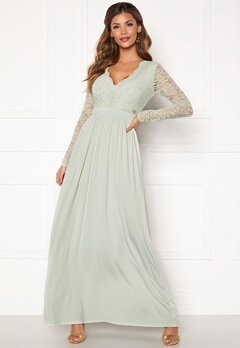 Chiara Forthi Wendolyn gown Dusty green Bubbleroom.fi