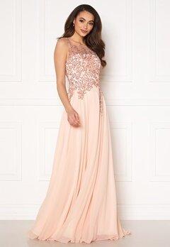 Christian Koehlert Alexandria Embellished Dress Pearl Pink Bubbleroom.fi