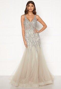 Christian Koehlert Cristal Prom Dress Ghost Grey Bubbleroom.fi