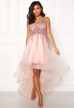 Christian Koehlert Sparkling Short Dream Dress Pearl Pink Bubbleroom.fi