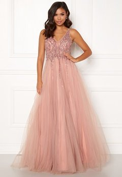 Christian Koehlert Sparkling Tulle Dream Dress Dawn Pink Bubbleroom.fi