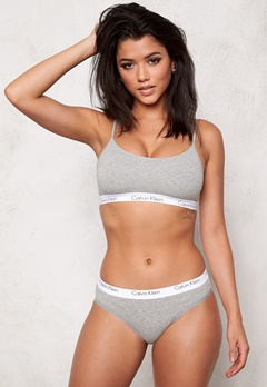 Calvin Klein CK One Cotton Bralette Grey Heather Bubbleroom.fi