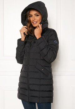 GANT Classic Down Long Jacket 5 Black Bubbleroom.fi