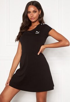 PUMA Classic Shortsleeve Dress Black Bubbleroom.fi