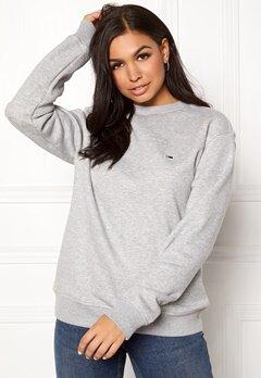 TOMMY JEANS Classics Sweatshirts 038 LT Grey Bubbleroom.fi