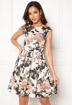 Closet London Tie Back Dress Multi Bubbleroom.fi