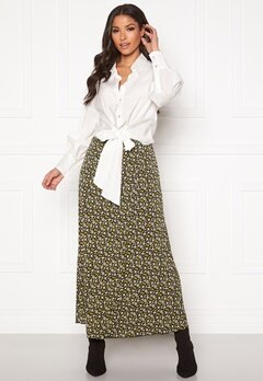 co'couture Alina Flower Skirt Mustard Bubbleroom.fi