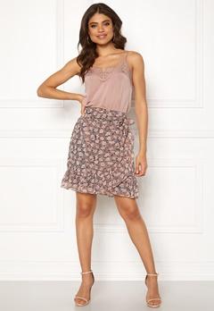 co'couture Amber Skirt Orange Bubbleroom.fi
